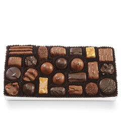 Assorted Chocolates with Black & White Bow View 2