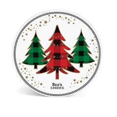 Holiday Trees Keepsake Tin View 3