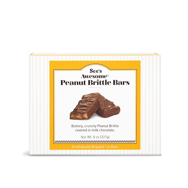 See's Awesome® Peanut Brittle Bars