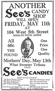 See's Candies advertisement
